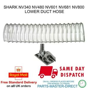 SHARK VACUUM CLEANER LOWER DUCT HOSE PIPE NV340 NV480 NV601 NV681 NV800
