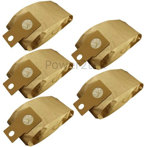 u20e 5 x u-2e u20ab Sacchetti per aspirapolvere per Panasonic mc-e43n mce44 mc-e44 Hoover Nuove
