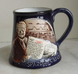 Great-Yarmouth-Pottery-Mug-Sparrows-Nest-Marina-Theatre-1988-24-of-500