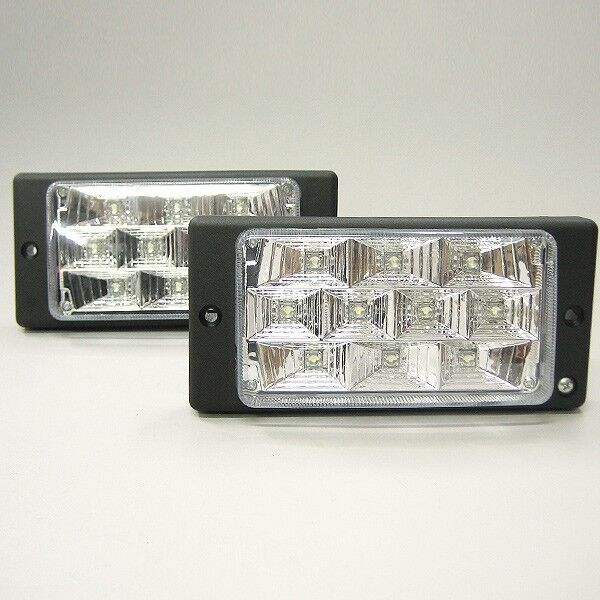 2 X Led Fog 12v  Lights Car For Volvo C70 460 850 940 960 S40 S60 S80 V40 V50