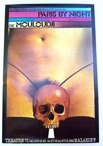 ROMAN-CIESLEWICZ-MOULOUDJI-PARIS-BY-NIGHT-AFFICHE-ORIGINALE-1982