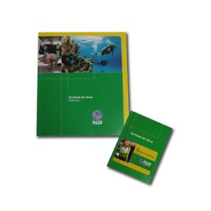angereichert Air Taucher Handbuch+w/DC simulator access Karte Padi version