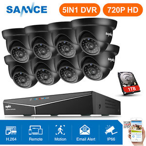 SANNCE-8CH-1080N-TVI-DVR-1500TVL-In-Outdoor-CCTV-Camera-Home-Security-System-1TB