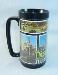 Souvenir Photos Cup Serv Black Tall Thermo Plastic Mug Vintage About Details Disney Disneyland MSUzpV