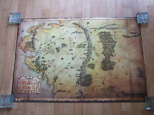 The Hobbit Journey Map Large Poster. NEW. Maxi Size. Jackson, Tolkien