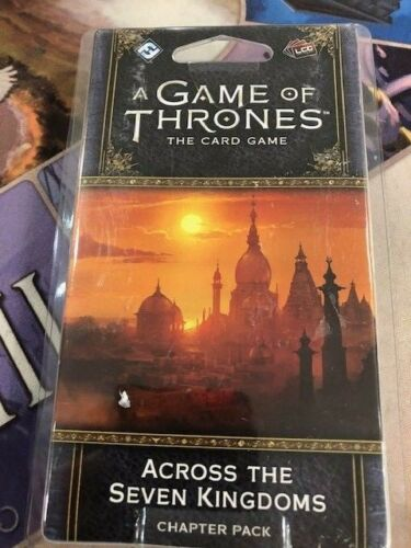 A Game of Thrones 2nd Ed Chapter Pack Across the Seven Kingdoms