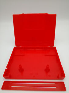 ES-BEST3DCASESSHOP REPLACEMENT PLASTIC SHELL NEO GEO AES CART RED NEW