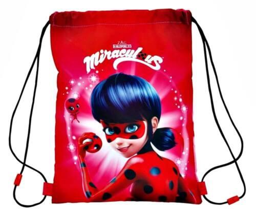 Miraculous Ladybug Sportbeutel Turnbeutel Gymbag Rucksack Beutel Sporttasche