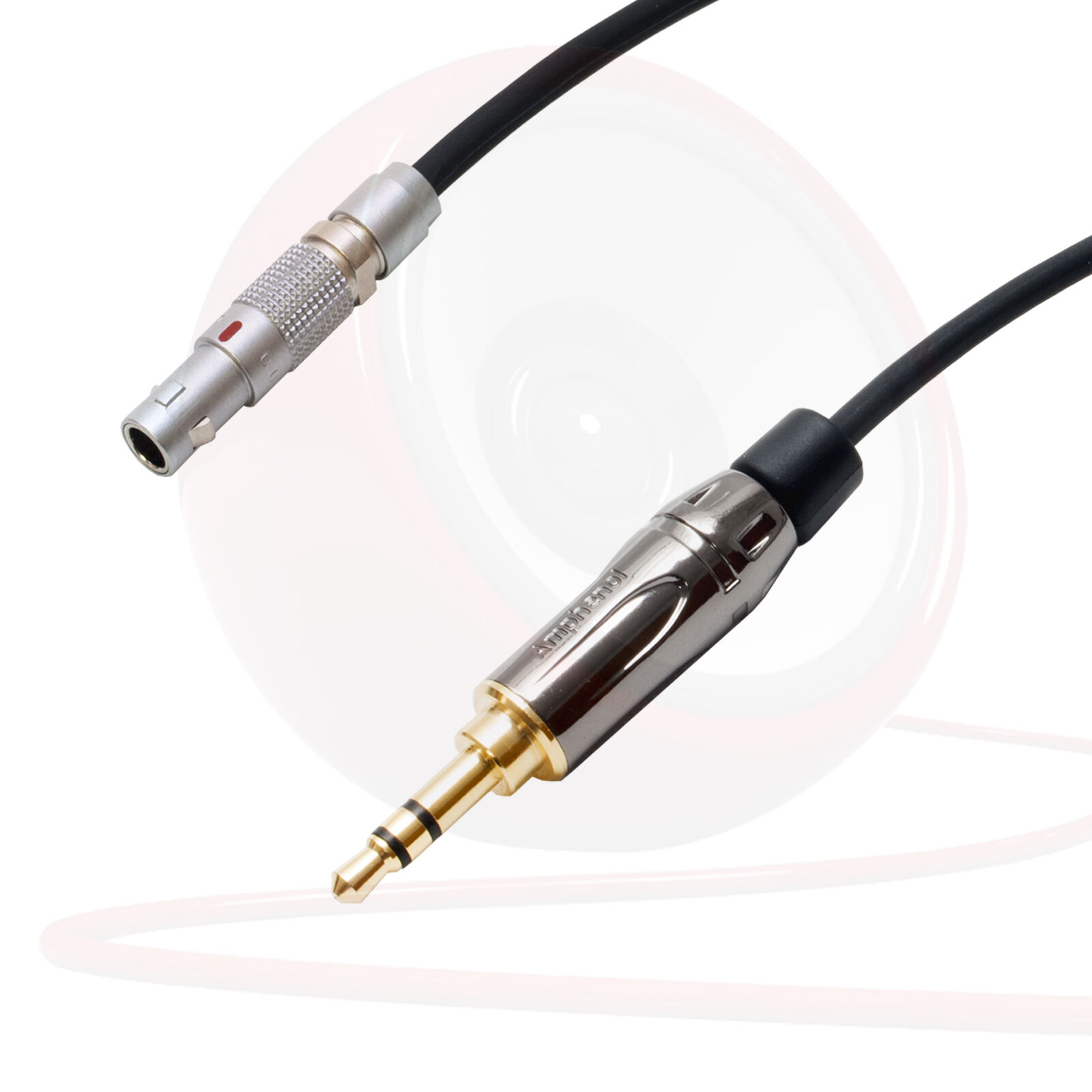 AKG K812 Headphone Cord. Replacement Lead. Quality Belden Star Quad Cable