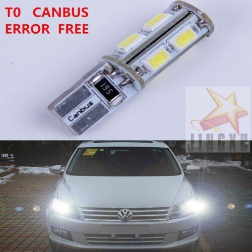 2 x T10 W5W Parking Light Bulb For Nissan TIIDA Bluebird Sylphy Sunny MURANO NV