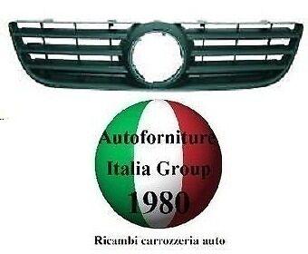 GRIGLIA ANTERIORE MASCHERA MASCHERINA NERA VOLKSWAGEN VW POLO 05/>09 2005 AL 2009