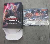 Tekken Card Tournament Promo Box And Card Set Sealed Super Rare Namco
