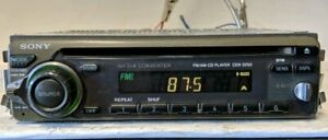 Vintage-SONY-CDX-2250-CD-AM-FM-In-Dash-RARE-Tested-Fully