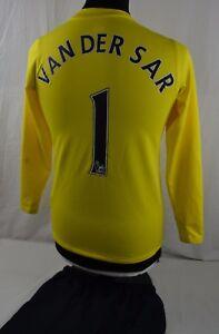 1a422d70706 Nike Manchester United Goalkeeper Football Kit 12-13 Years Van Der ...
