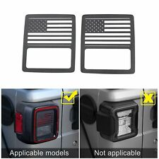Tail Light Cover Us Flag Taillight Guard For 2018 Jeep Wrangler Unlimited Jl A Fits Jeep
