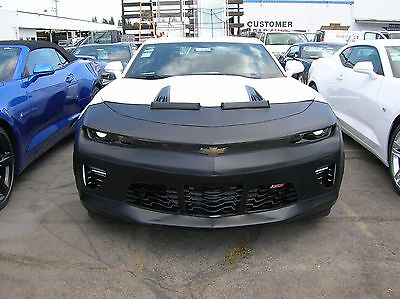Colgan Front End Mask Bra 2pc Fits Chevy Camaro 1ss 2ss 16 18 Without License 42374139931 Ebay