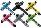 Reflex Utilitool Skate Tool w/ Axle Rethreader and Bearings Press/Remover