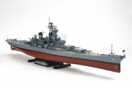 Tamiya 1 350 U.S. Battleship BB-62 New Jersey 78028