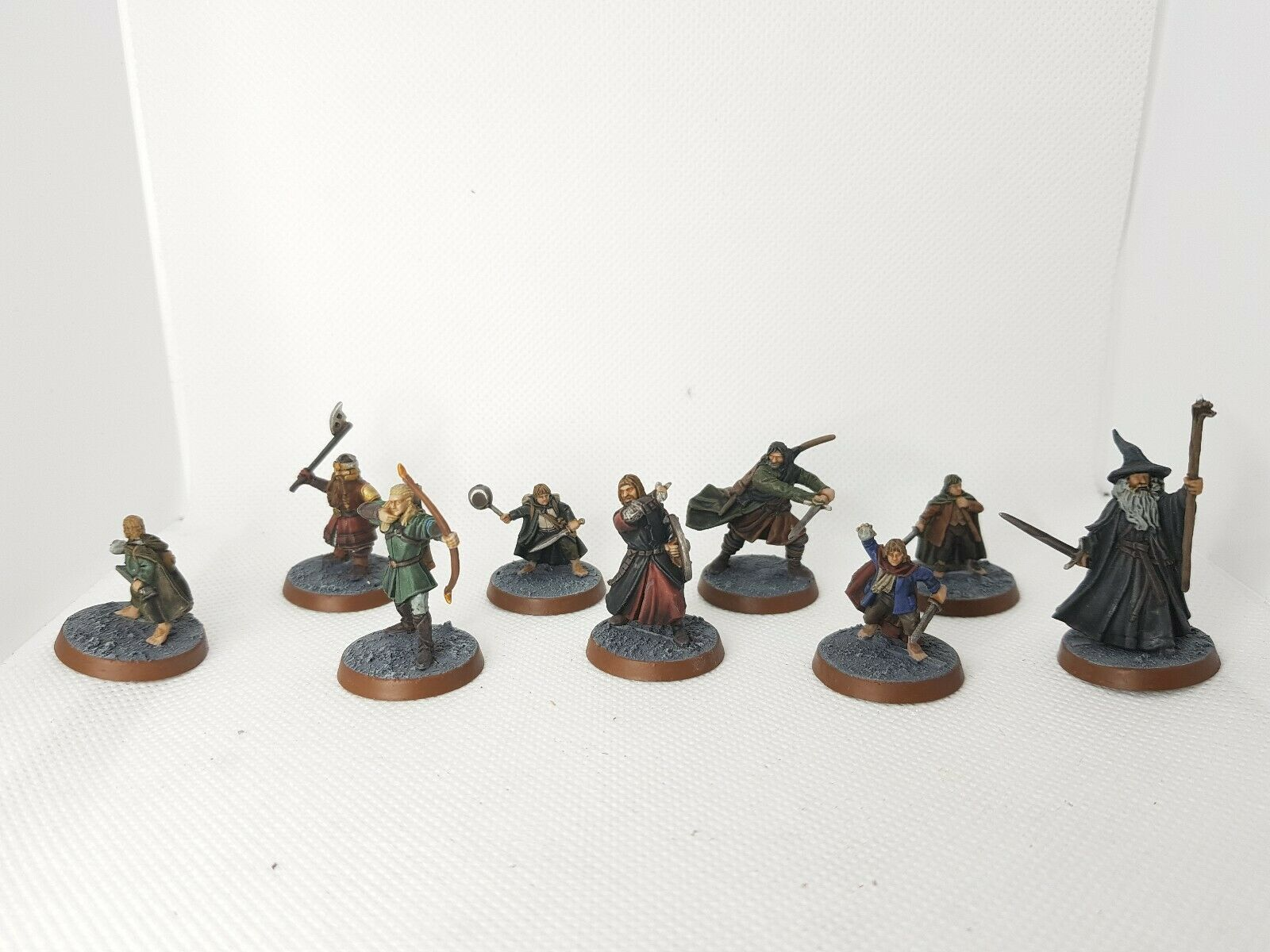 Lord Of The Rings Plastic Fellowship, made to order PRO PRO PAINTED, Quick Delivery
