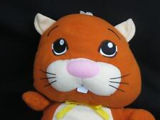 "ADORABLE SUPERHERO CAPE BROWN KITTY CAT HAMSTER 2010 CEPIA LLC PLUSH STUFFED 18"""