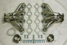 Chevy LS1 LS6 Stainless Steel Block Hugger Tight Fit Exhaust Headers LS 1 LS 6