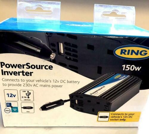 240V 150W Inverter with USB Ring PowerSource RINVU150-12V