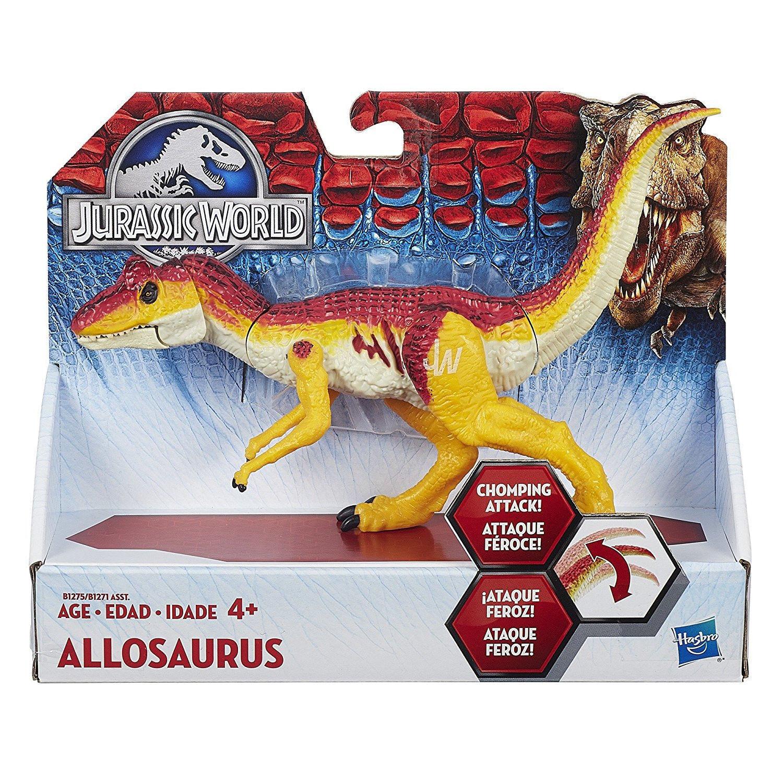 Jurassic World baños y artroscópicos alosaurio Dinosaurio Figura Rara