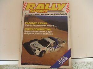 Rally-Sport-Rallysport-September-1987-Sligo-Stages-Ulster-Nicolet-Kayel-Graphics