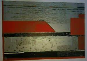 Serigraphy by Offil Echevarría. No title. Original signed by the artist.