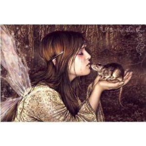 Victoria-Frances-Rat-Kisser-POSTER-61cm-x-91cm-NEW-angel-girl-art
