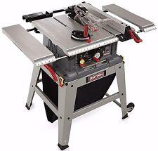 NEW! Craftsman Table Miter Saw W/ 10 Inch Wood Cutting Laser Trac Gauge Tool Set