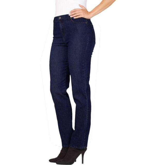Gloria Vanderbilt Plus Amanda Solid Stretch Slimming Jeans