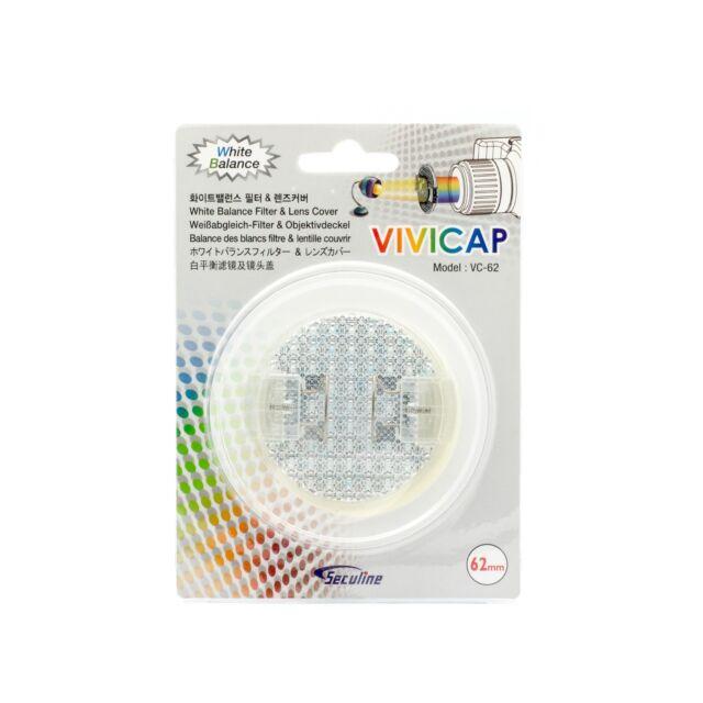 Seculine VIVICAP White Balance Filter Cap 58mm Lens Front Cap Lens Cover 58mm
