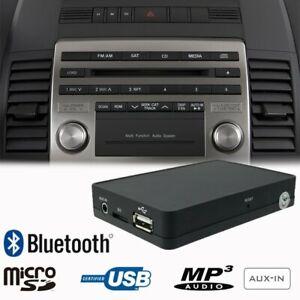 Bluetooth A2DP Manos Libres USB AUX Adaptador para Volvo V50 S40 C30 C70 XC90