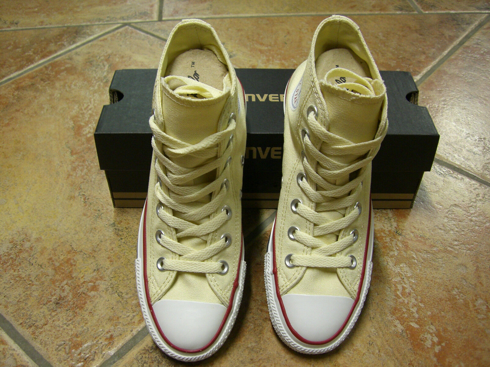 Converse Chucks Bll Star HI Gr.41 WHITE WEISS  M 9162 NEU TRENDY TOP