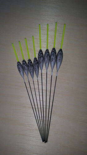 8 x Assorted High Quality Pole Fishing Floats Pack 319Y8