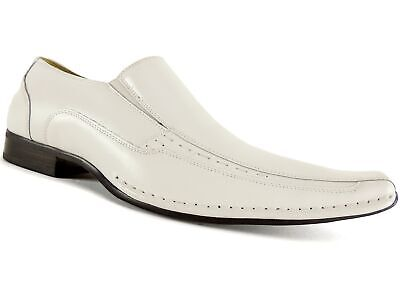 Templin Loafers White Leather Size