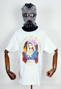 Dgk-Skateboards-T-shirt-Tee-Blessing-White-in-XL-Dirty-Ghetto-Kids