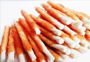 [500g] A011 Chicken Wrapped Jerky Beef Twists - snacks, chews, treats, rawhide