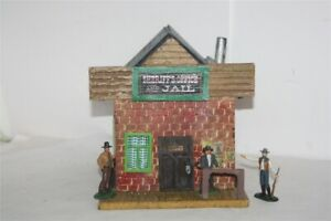 Potters-Old-West-Town-3063-Sheriff-Office-Wild-West-zu-7cm-Sammelfiguren