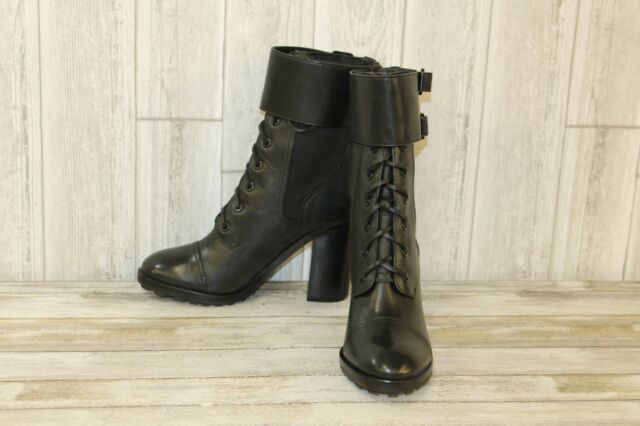 ee5e80cb013 Tory Burch Broome Combat BOOTS - Women s Size 10 M Black for sale ...