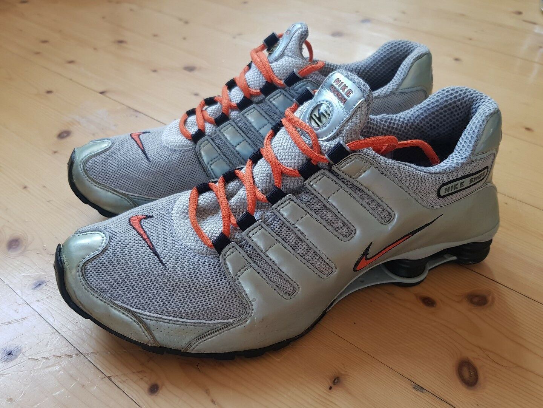 Nike Shox silber orange Gr.46