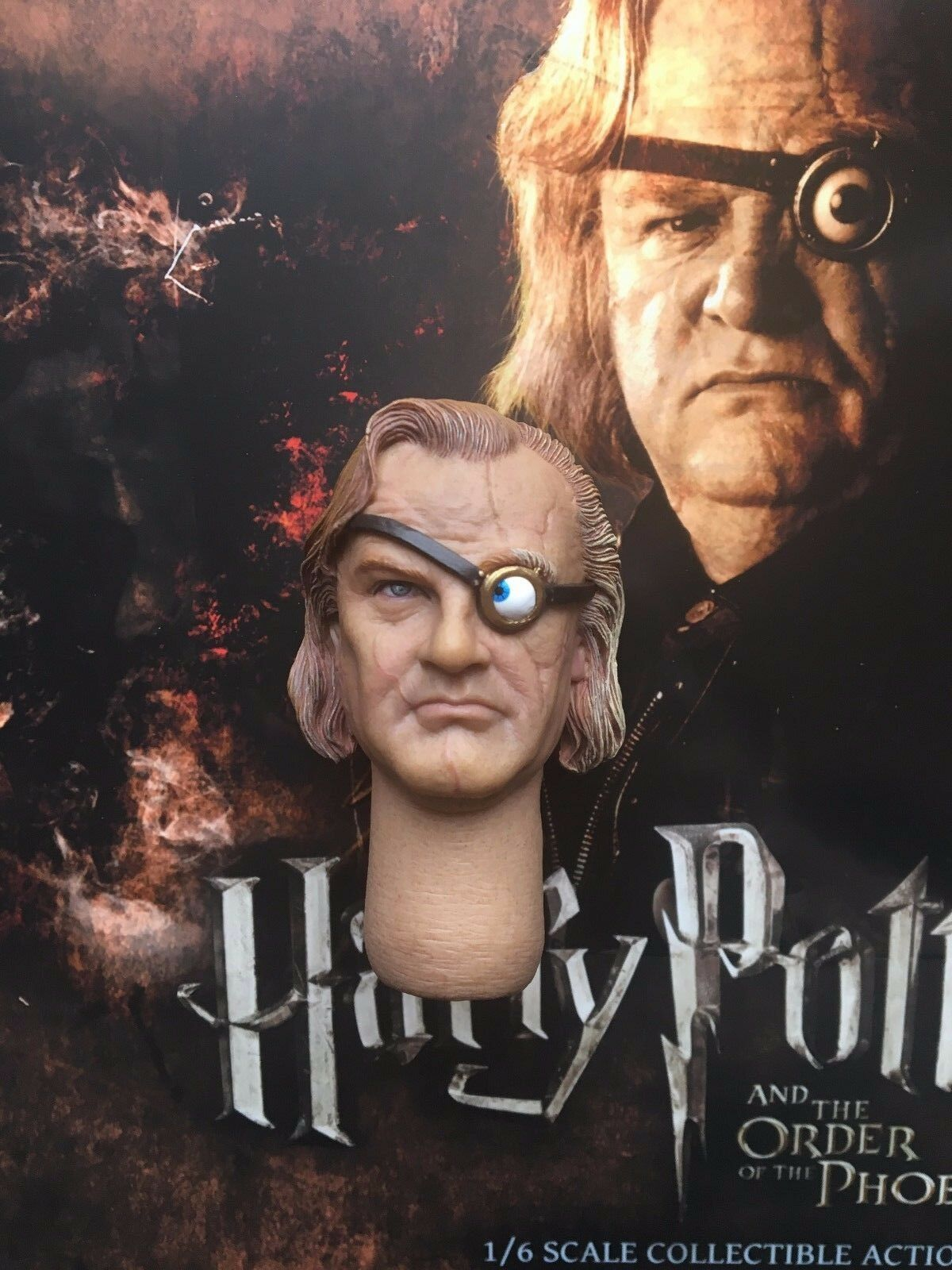 Star Ace Harry Potter Alastor Mad Eye Moody 12  Head Sculpt loose 1 6th scale