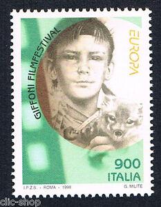 ITALIA-1-FRANCOBOLLO-EUROPA-CEPT-GIFFONI-FILMFESTIVAL-1998-nuovo-BI3676