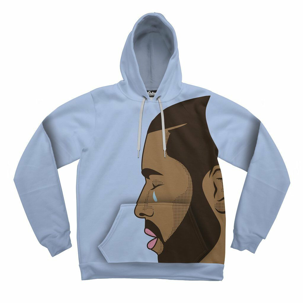 NEW Beloved Shirts CRYING DRAKE HOODIE SMALL-3XLARGE CUSTOM HAND MADE IN THE USA
