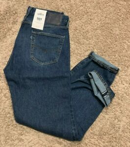 Levi/'s Made /& Crafted 501 Taper Selvedge Jeans Men/'s Sizes NWT RT$148