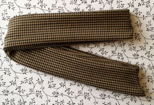 NEW BROWN TWEED CHECK BENDY WIRE WIRED HAIR HEAD BAND VINTAGE STYLE COUNTRY SET