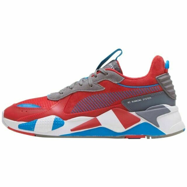 Size 12 - PUMA RS-X Retro Red Steel Gray for sale online | eBay