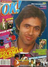 OK Magazine n°622 - 1987 - Jean JacquesGoldman  - Sting - Percy Sledge - Alie