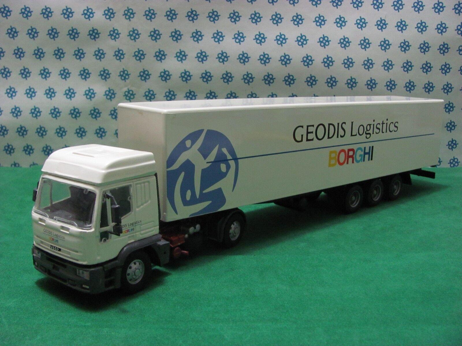 precios bajos Combo Combo Combo De Escritorio Iveco Eurojoech 2 ejes  Borghi  -1 43 Old Coches Original  mejor servicio